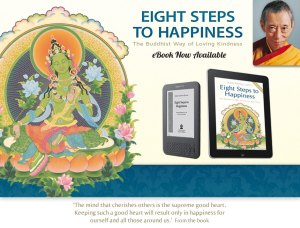 Eight Steps to Happiness by Geshe Kelsang Gyatso